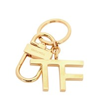 Tom Ford Padlock Keychain Gold