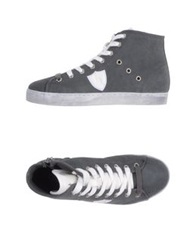 Australian High Tops And Trainers Grey