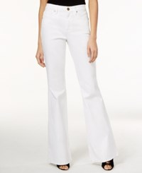 Rachel Rachel Roy Flared White Wash Jeans