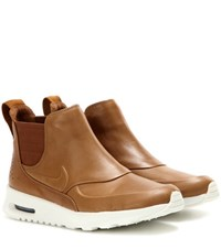 Nike Air Max Thea Mid Leather Sneakers Brown