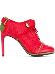 Preen By Thornton Bregazzi 'Ibold' Booties Red