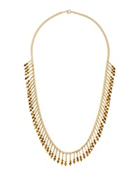 Fragments For Neiman Marcus Fragments Crystal Stick Fringe Necklace