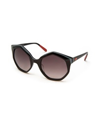 Missoni Seven Sided Butterfly Sunglasses Black