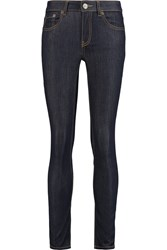 Red Valentino Mid Rise Skinny Jeans Blue
