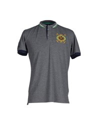 Beverly Hills Polo Club Topwear Polo Shirts Men Grey