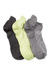 Z By Zella Nylon Back Tab Sport Socks Pack Of 3 Green