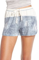 Kensie Women's Lounge Shorts Moonlight Marble