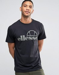 Ellesse T Shirt With Large Logo Black