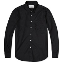 First Shirt Black Poplin