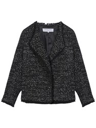 Gerard Darel Alma Jacket Black White