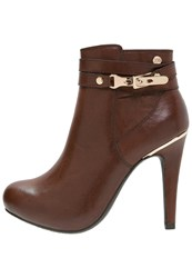 Xti Ankle Boots Brown