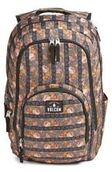 Volcom 'Top Notch' Floral Print Backpack