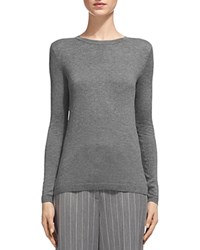Whistles Sparkle Knit Sweater Dark Gray