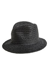 Women's Nordstrom Summer Straw Bucket Hat Black