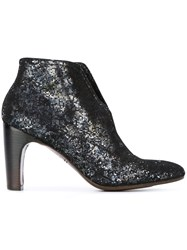 Chie Mihara 'Fedora Pixy' Ankle Boots Metallic