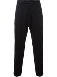 Barena Classic Tapered Trousers Black