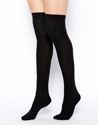Asos Over The Knee Socks Black
