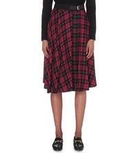 Claudie Pierlot Shadow Woven Skirt Noir
