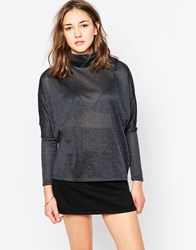 B.Young High Neck Swing Jumper Blue