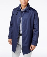 Tommy Hilfiger Men's Fletch Solid Rain Coat Stone