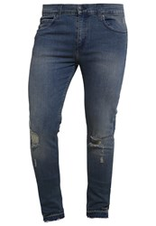 Cheap Monday Slim Fit Jeans Stone Tint Blue Denim