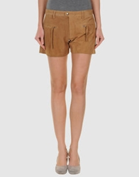 Nocollection Leather Pants Beige