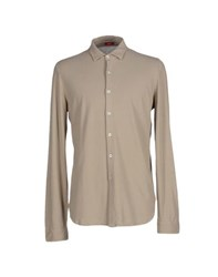 Altea Shirts Shirts Men Khaki