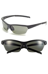 Women's Smith Optics 'Approach' 62Mm Interchangeable Lens Sunglasses Black Polar Grey Green Clear