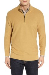 Cutter And Buck Men's 'Benson' Quarter Zip Textured Sweater Glaise
