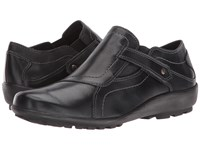Walking Cradles Hardy Black Leather Women's Shoes