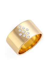 Jules Smith Designs Women's Jules Smith 'Bordeaux' Ring Gold Clear
