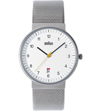 Braun White Bn0032whslmhg Watch Hypebeast Store. Shop Online For Men's Fashion Streetwear Sneakers Accessories