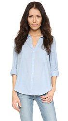 Joie Cartel Chambray Shirt Chambray Blue