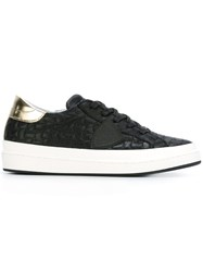 Philippe Model Quilted Sneakers Black