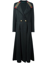 Etro Double Breasted Coat Green