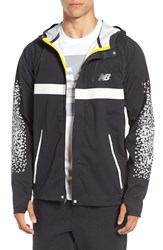 New Balance Men's 'Beacon' Hooded Running Jacket