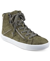 G By Guess Maker High Top Sneakers Women's Shoes Olive