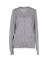 Kangra Cashmere Knitwear Cardigans Women Light Grey