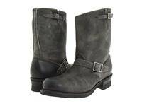 Frye Engineer 12R Charcoal Old Town Leather Men's Pull On Boots Gray