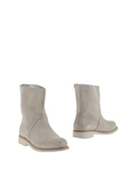 Bikkembergs Ankle Boots Sand