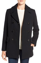 Kate Spade Women's New York Wool Blend Peacoat