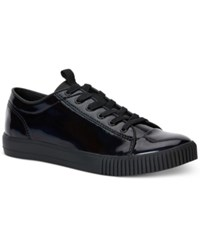 Calvin Klein Jeans Jerome Patent Leather Sneakers Men's Shoes