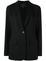 Alexander Wang One Button Blazer Black