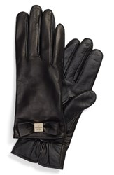 Women's Kate Spade New York 'Bow Logo' Gloves