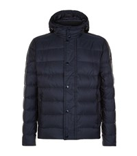 Paul And Shark Quilted Down Jacket Male Navy