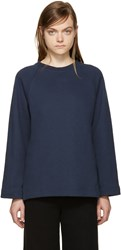 Ymc Navy Relaxed Pullover