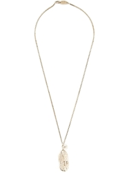 Vivienne Westwood 'Ryan' Peanut Locket Pendant Necklace
