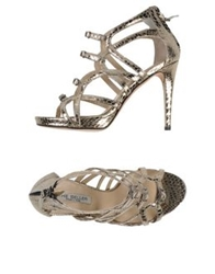 The Seller Sandals Platinum