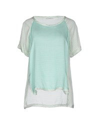 Fairly Shirts Blouses Women Light Green