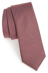 Men's Calibrate Textured Cotton And Silk Tie